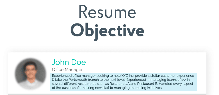 How to Write an Objective for a Resume Properly